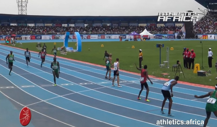 Men's 4x400m Relay, Final - 2018 Asaba Senior African Championships